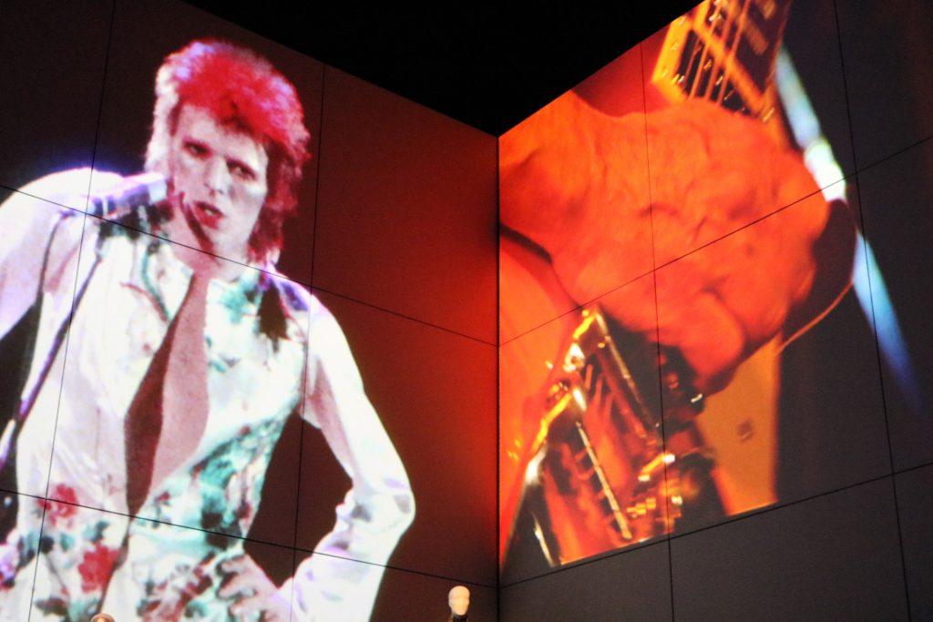 Mostra immersiva - David Bowie is - dettaglio